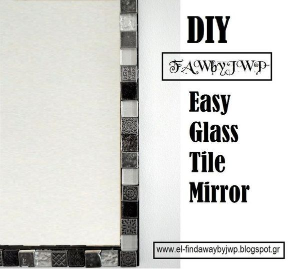 17 Best Ideas About Tile Mirror Frames On Pinterest