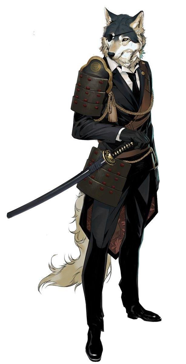 Wolfen Samurai.