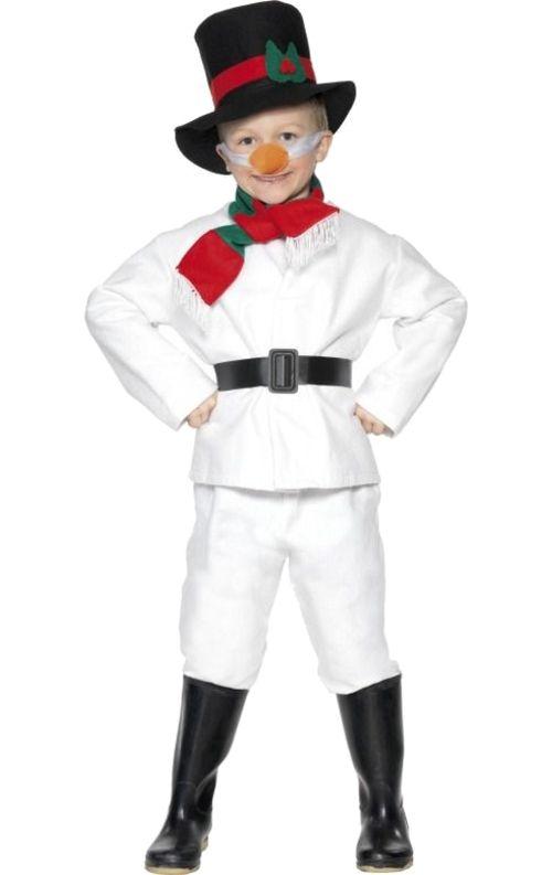 Child Mr Snowman Costume | Jokers Masquerade