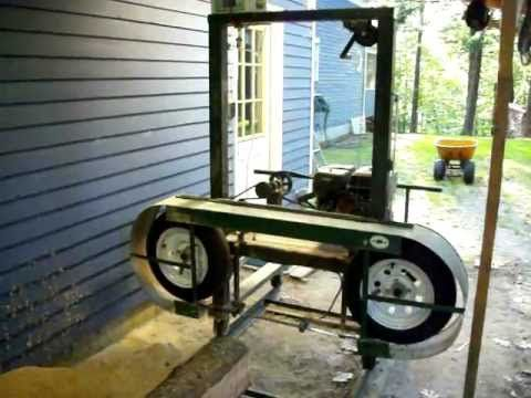 ▶ Homemade Sawmill- Upclose video - YouTube