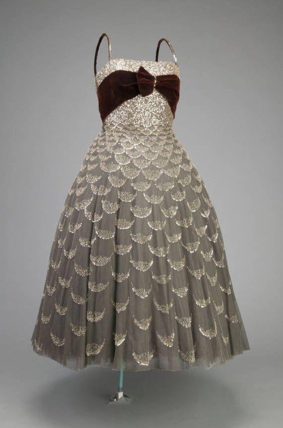 Dior ball dress. 1951