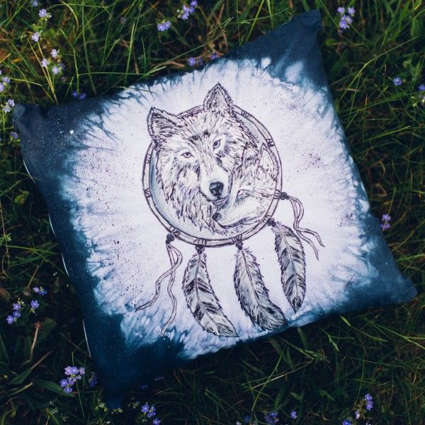 Poducha dekoracyjna Wolf Mom   Make My Wonderland