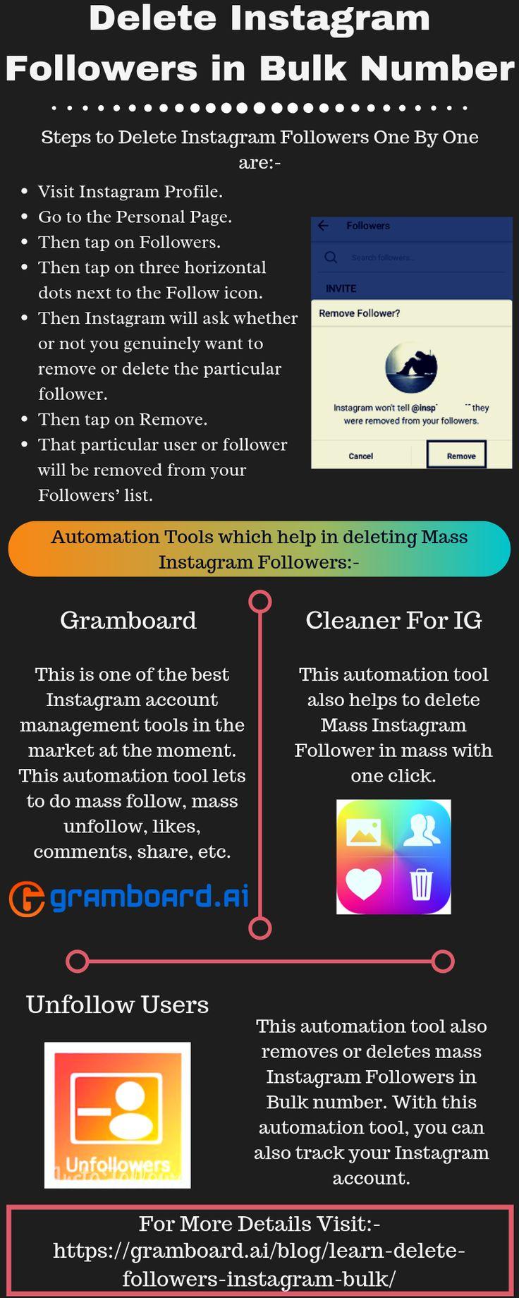 Delete instagram followers in bulk number how to delete