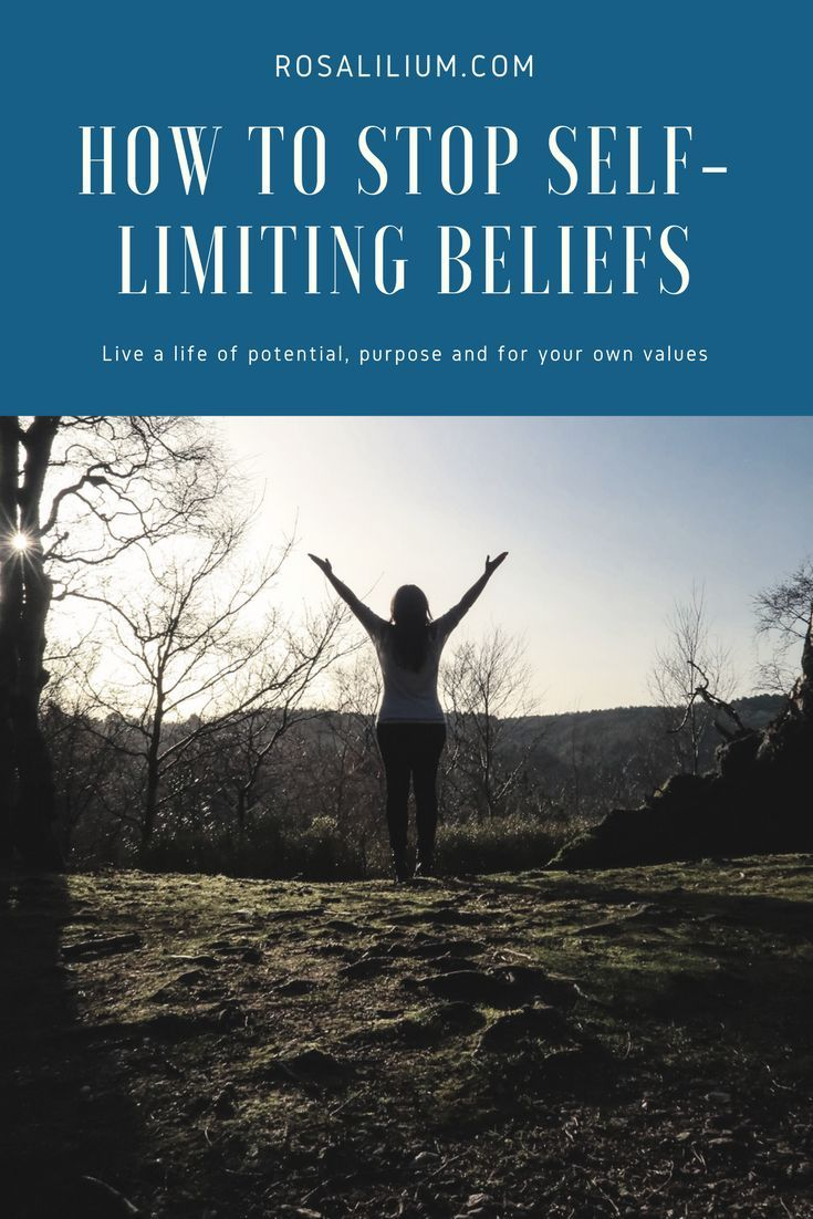 How to stop self-limiting beliefs and live a life full of potential, purpose and value driven.    #personaldevelopment #selfcare #personalgrowth #mind #wellness #wellbeing #mindfulness