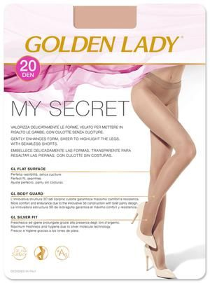 My secret 20: Panty transparente.