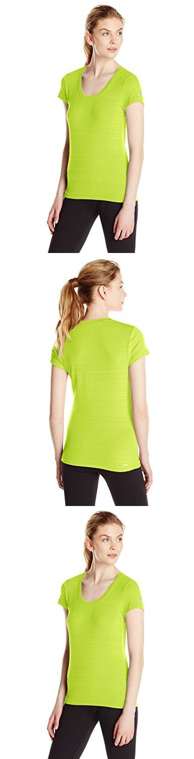 Adidas Performance Women's Boyfriend Stretch Tee, Semi Solar Yellow/Silver, XX-Large