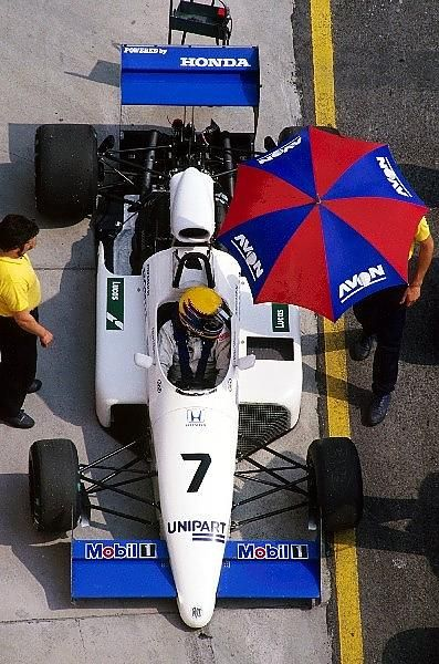 Roberto Moreno - Ralt RT21/87 [2] Honda - Ralt Racing Ltd - 1987 Intercontinental Formula 3000 Championship - © Sutton Motorsport Images