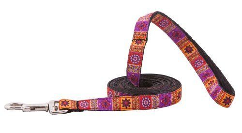 RC Pet Products Kitty Cat Leash, 1/2-Inch by 6-Feet, Trendy Mehndi