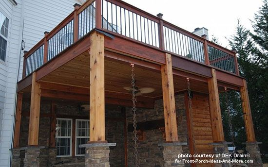 Deck Waterproofing Decks Tongue And Groove And Ceilings