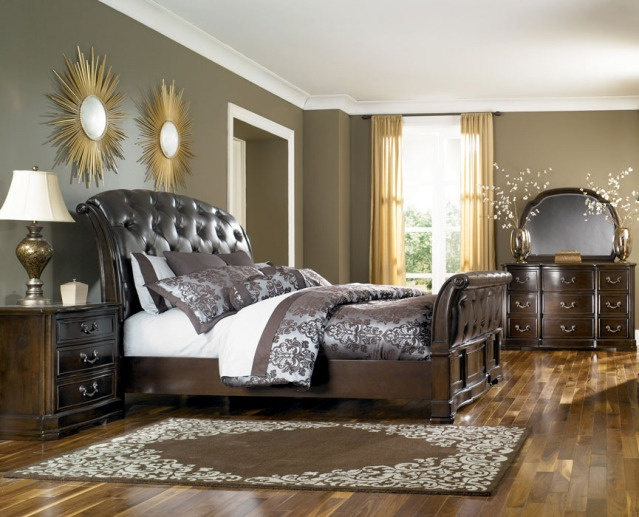 King Bedroom Sets Ashley Furniture the barclay bedroom group in king from ashley furniture
