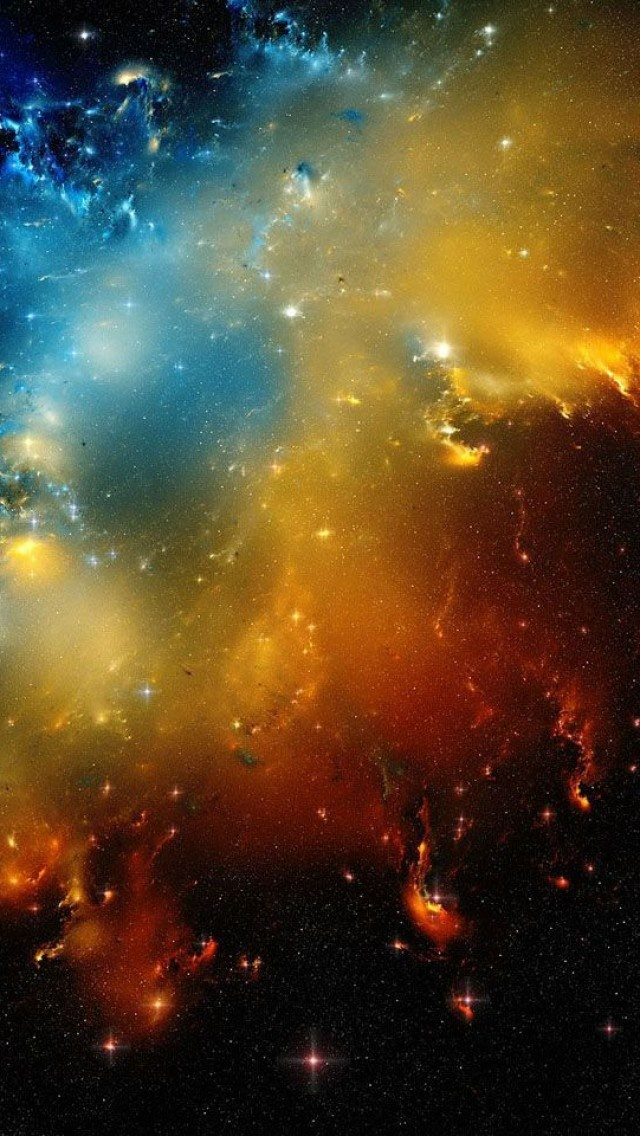 colorful galaxy planets and - photo #9