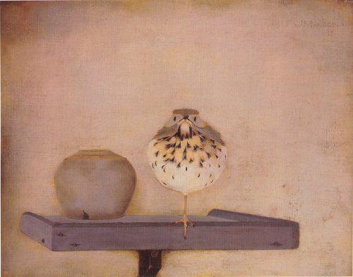 Thrush in the manger, Jan Mankes (1889-1920)