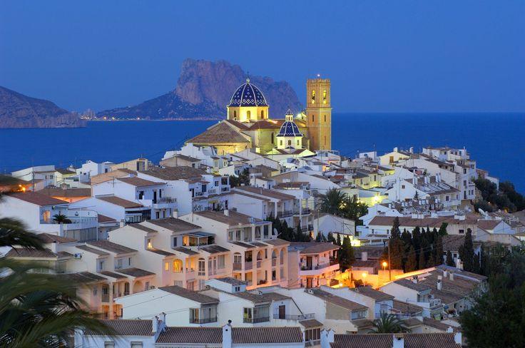 Casco antiguo de Altea (Alicante)