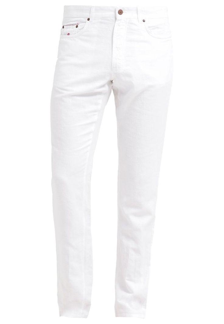 120% Lino CRUISE Pantalon classique white prix promo Pantalon Homme Zalando 150.00 €