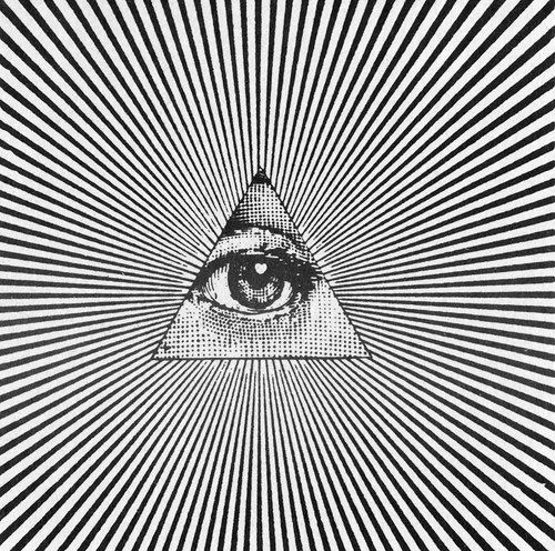 The Eye of Providence (or the all-seeing eye of God) is a symbol showing an eye often surrounded by rays of light or a glory and usually enclosed by a triangle. It is sometimes interpreted as representing the eye of God watching over humankind (or divine providence). In the modern era, the most notable depiction of the eye is the reverse of the Great Seal of the United States, which appears on the United States one-dollar bill.
