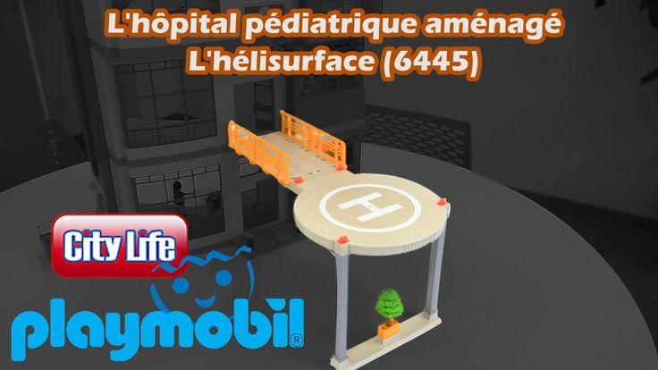 Playmobil (6445) Hélisurface : extension pour hôpital pédiatrique - Cons...