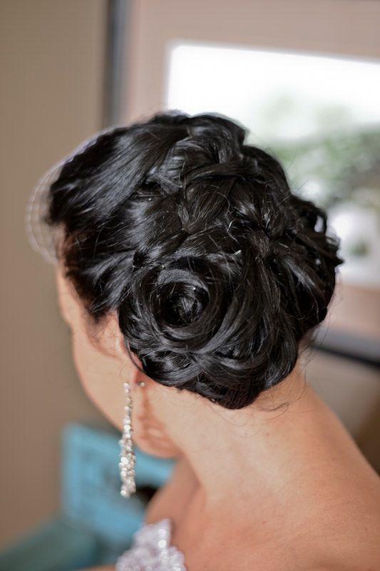 Bridal Hair - done by: Cecilia Fourie www.ceciliafourie.co.za