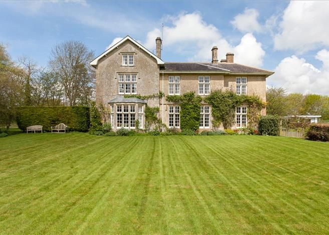 The Old Rectory Yatesbury Calne Wiltshire A Substantial Grade Ii Listed Property Believed To