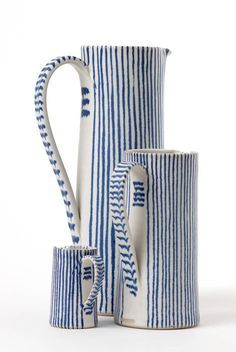 Sue Binns, Jugs. - The Scottish Gallery, Edinburgh - Contemporary Art Since 1842