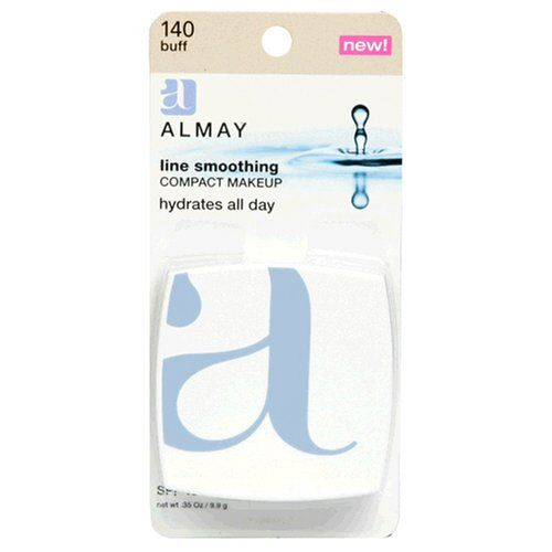 Almay Line Smoothing Compact Makeup with SPF 15, Buff 140, 0.35-Ounce Package *** Want additional info? Click on the image. (Amazon affiliate link)