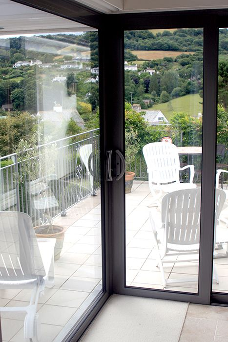 Sunflex UKu0027s SVG Plus sliding door installed by Devonshire Windows & 30 best Projects - Sunflex UKu0027s SVG Plus sliding doors images on ...