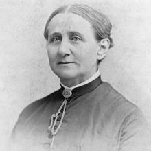 Antoinette Brown Blackwell, first woman to be ordained in the US