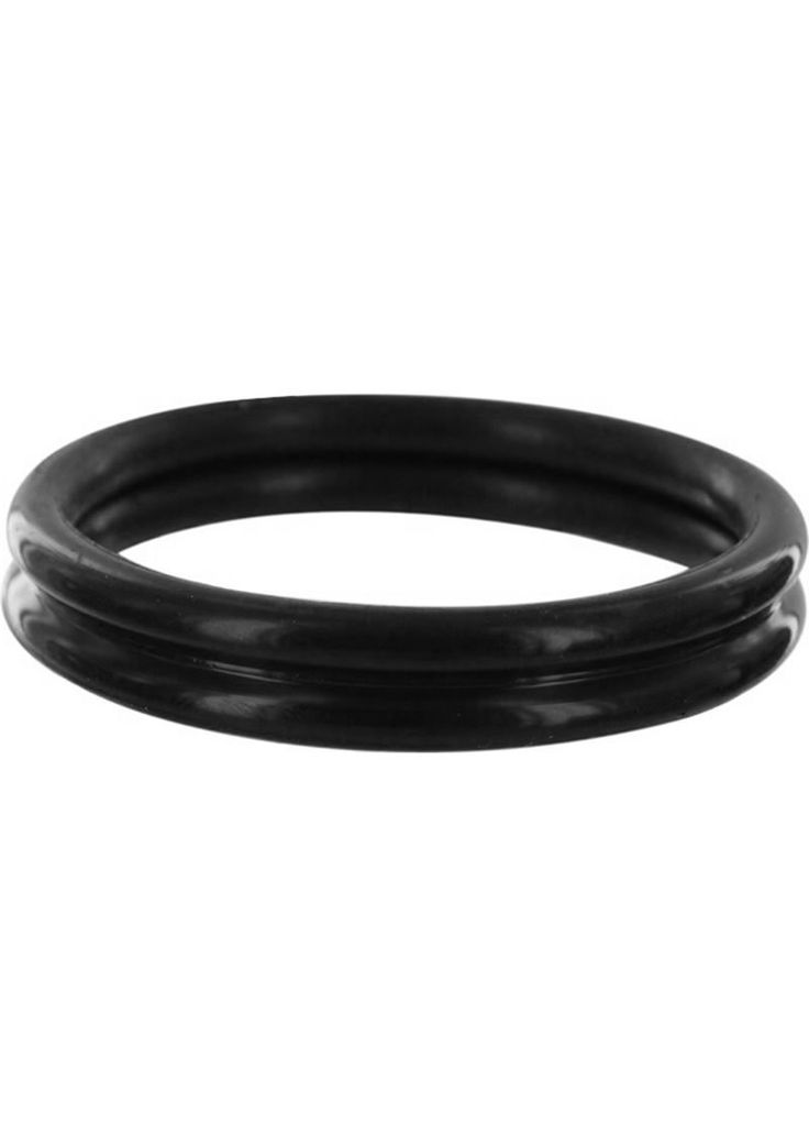 Buy Rudy Rings Silicone Cock Rings Black online cheap. SALE! $8.49