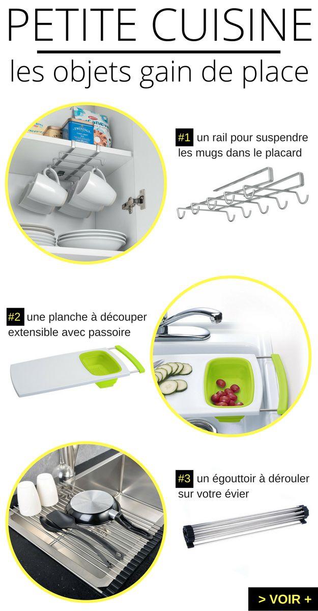 Aménagement Petite Cuisine : LE Guide Ultime   Kitchens, Kitchen Gadgets  And Studio