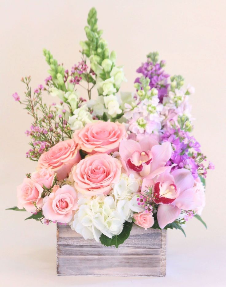 Send the Blushing Beauty bouquet of flowers from MD's