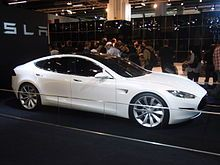 Tesla Model S prototype at the 2009 Frankfurt Motor Show- Wikipedia, the free encyclopedia