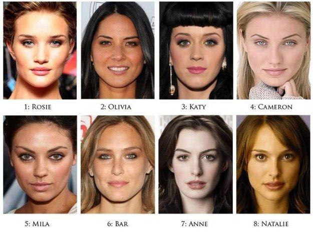 Para empezar, él tomo las primeras ocho mujeres de la lista de chicas más hermosas de la revista Maxim del año 2011: