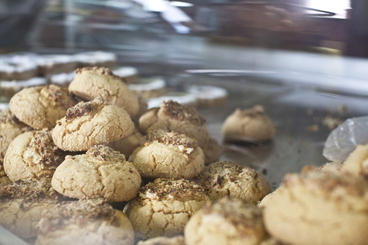 Greek cookies!  Learn how to bake them in our holiday cooking courses