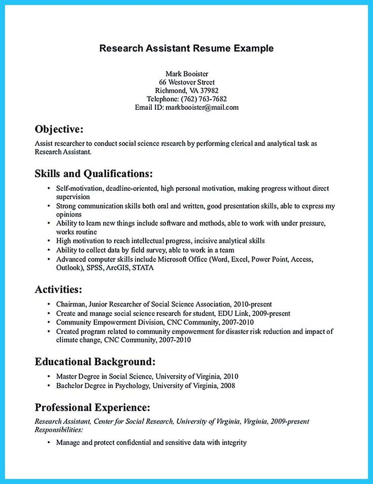 awesome Grabbing Your Chance with an Excellent Assistant Teacher - research assistant resume sample