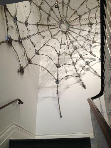 Spider Web made of jewelry3