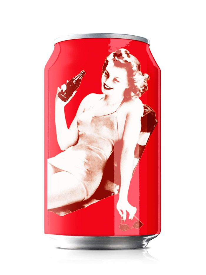 Coca Cola 125 year Varga Girl