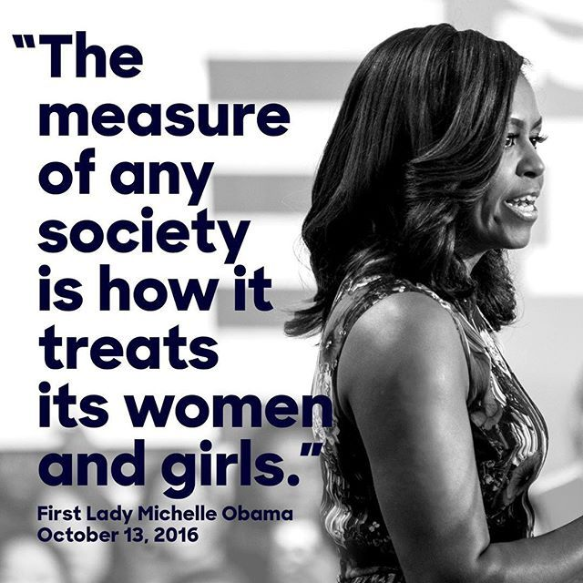 """""""Now is the time for all of us to stand up and say enough is enough. This has got to stop right now."""" —First Lady Michelle Obama on Trump"""