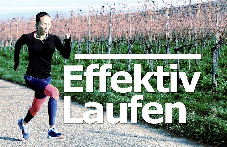 Laufen für Anfänger - Effektiv Laufen lernen - Live mit mir dabei - Inte...