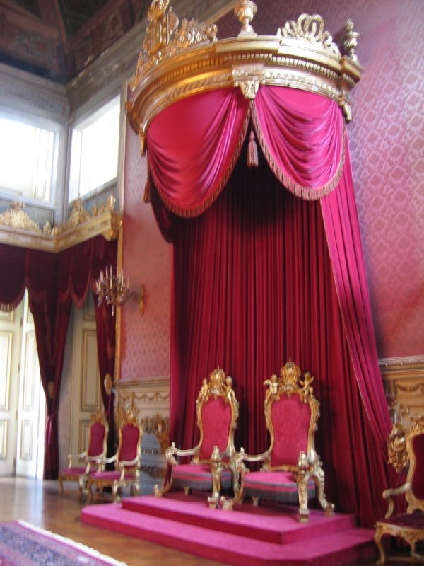 King of Portugal Royal Throne, Palácio da Ajuda