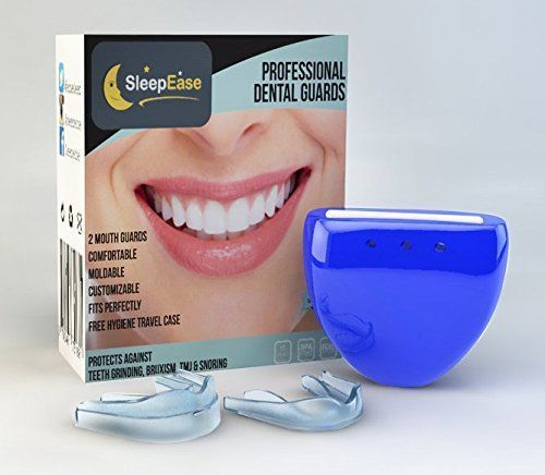 SleepEase PREMIUM Dental Guards! STOP TEETH GRINDING & SNORING NOW – 2 Different Mouth Guards – Buy 2 Get FREE Delivery – Night Dental Protector's Scientifically Designed To Prevent Teeth Grinding, Bruxism, TMJ / TMD and Snoring.   Your #1 Source for Health & Personal Care Products #StopSnoringFamilies