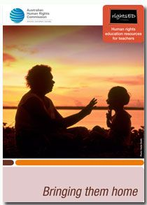 Explore the Stolen Generations through a human rights perspective with this resource