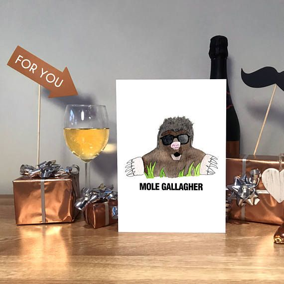 Noel Gallagher Oasis Noel Gallagher Card Oasis Card High Flying Birds #noelgallagher #highflyingbirds #birthdaycard #funnybirthdaycard #handmadecard