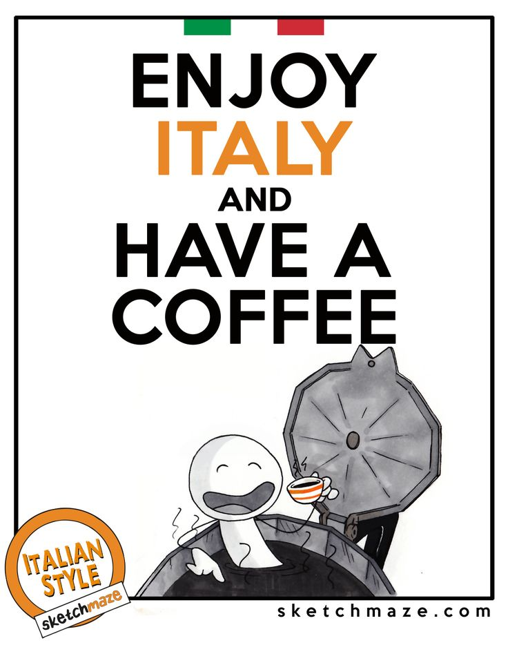 """""""ENJOY ITALY and HAVE A COFFEE""""  #sketchmaze #enjoy #enjoyitaly #italy #italia #italianstyle #italian #madeinitaly #fun #funny #viral #meme #memes #marketing #follow #followme #love #art #travelgram #vacation #tourism #book #books #comics #sketch #sketches #coffee #caffe #haveacoffee"""