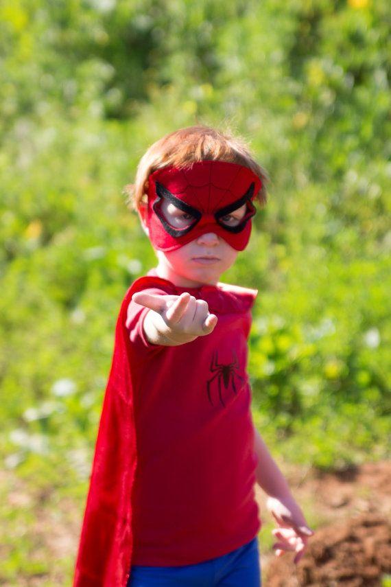 Spiderman costume Toddlers Spiderman costume 4PC boys toddler costume Ready to shipp Halloween children costume.