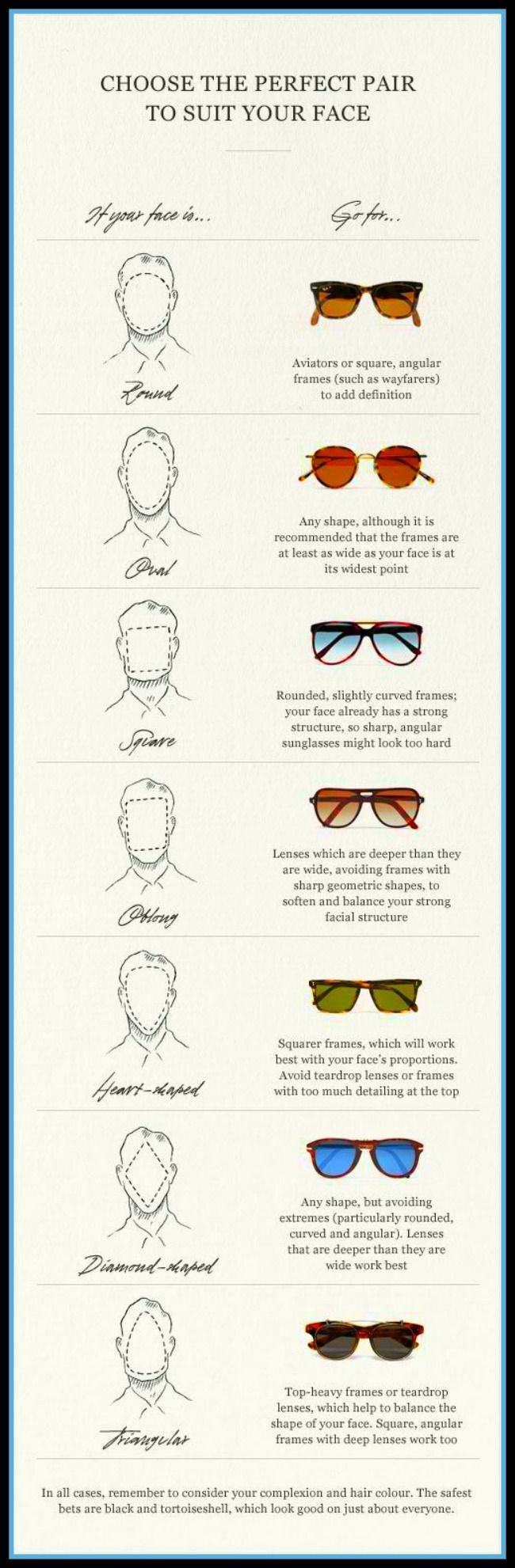 Choose The Perfect Pair To Suit Your Face