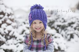 Ravelry: Snow Bunny Beanie pattern by Crochetmylove designs 0-3M to Adult