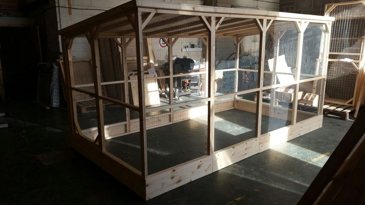 Large Rabbit Run! 12x6x6.5ft Walk In Rabbit Run With A Solid Roof And Kick boards.  Handmade To Order By Boyles Pet Housing.  A Hutch Is Not Enough.
