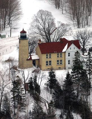 Best Lighthouse Images On Pinterest Light House Lighting And - Michigan location in usa
