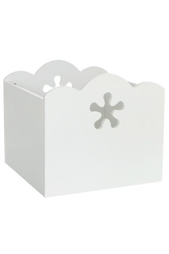 Hvit Oppbevaringsboks