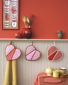 Express your love with handmade Valentine's crafts and decorations.
