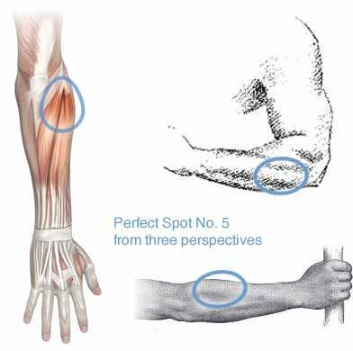 "Massage Therapy for Tennis Elbow, Wrist Pain: Glory says ""This was my favorite thing to learn. HELPS SO MUCH! Learning how everything is connected - and how to treat it yourself - will save you!"""